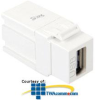 ICC Type A Female to Female USB Module Connector -- IC107UAAWH
