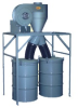 DUSTKOP® Push-Thru Cyclone Dust Collector -- 11N51-P - Image