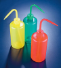 Color Coded LDPE Plastic Wash Bottles -- 506755-0500
