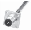 MDC (M12) Male Receptacle -- MDC-2MR-PM