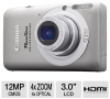 Canon 100HS 4924B001 PowerShot Elph Digital Camera   - 12 Me -- 4924B001 - Image