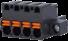 Pluggable Spring Clamp Terminal Blocks -- ASP025