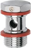 Nickel-Plated Brass Push-In Fittings -- 1631 01-06