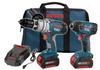 Bosch CLPK22-180 18v 2 tool Combo Kit Impact & Hammer Drill -- COMBO18VCLPK22180