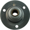 Grease Fit Mid Flange Mounted Bearing -- GBH14G