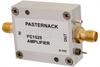 15 dBm P1dB, 200 MHz to 2.5 GHz, Gain Block Amplifier, 22 dB Gain, 6 dB NF, SMA -- PE1525 -Image