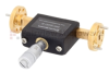 WR-15 Waveguide Continuously Variable Attenuator With Dial 0 to 30 dB Operating from 50 GHz to 75 GHz, UG-385/U Round Cover Flange -- SMW15AT001-30 - Image
