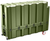 Pelican AL5415-1026 Single Lid Flat Shipping Case - No Foam - Olive Drab -- PEL-AL5415-1026-RP-137 -Image
