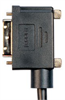 DVI-D Dual Link DVI Cable Male / Male Right Angle, Right 10.0 ft -- DVIDD-RA4-10 - Image