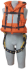 DBI-SALA Orange Universal Lifejacket Body Harness - 840779-00583 -- 840779-00583