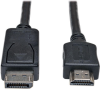 DisplayPort to HDMI Adapter Cable (M/M), 1080p, 20 ft. -- P582-020 -- View Larger Image
