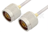 N Male to N Male Cable 60 Inch Length Using PE-SR402AL Coax -- PE34138LF-60 -- View Larger Image