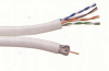 6 Dual Shield + Cat5E -- RG6ULCAT5E-500