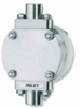Air Driven Compact Diaphragm Pumps, PTFE, Air Supply Pressure 80 to 100 psig -- GO-07032-04