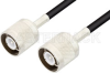 SC Male to SC Male Cable 72 Inch Length Using RG223 Coax -- PE3348-72 -- View Larger Image