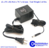 Linear Transformers and Power Supplies -- A-24V0-1A6-UD12 - Image