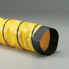 Single-Ply Yellow Pvc Vinyl Coated Polyester Fabric Hose -- Springflex® FSP-5 5.0