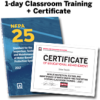 NFPA 25, Inspection, Testing, and Maintenance of Water-Based Fire Protection Systems (2017) 1-Day Classroom Training with Certificate of Educational Achievement - Image
