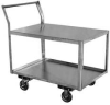 Stainless Steel Cart,39x42x18 In -- XL136-U5