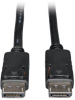 DisplayPort Cable with Latches (M/M), 4K x 2K 3840 x 2160 @ 60Hz, 1-ft. -- P580-001 - Image