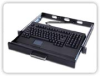 1U Rack Mount Keyboard -- SRK145 - Image