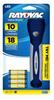 Rayovac Value Bright LED 4AAA Gel Grip Flashlight -- BRSGEL4AAA-BA - Image