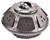 Round Surge Protector 6 Outlet