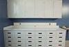 Flame Retardant  Polypropylene  1 Door Wall Cabinet 18x24 -- ID-1-1824-WC-FR - Image
