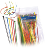 Ty-Rap Cable Ties, Assorted Colors, 7 in. (min 50 lbs tensile strength) -- 70092074