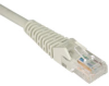 Cat5e 350MHz Snagless Molded Patch Cable (RJ45 M/M) - Gray, 6-ft. -- N001-006-GY