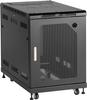 "15U Server Cabinet 24""W x 40""D Mesh Front -- RM2400A -- View Larger Image"
