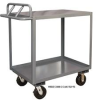 Rolling Stock Cart With Ergonomic Handle -- HRSCE-3060-2-TLD-95 -Image
