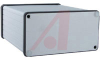 Enclosure; Extruded Aluminum; Plastic; 0.06 in.; Clear Anodized -- 70166718