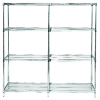 Quantum Extra Shelves and Posts for Q-Stor Wire Shelving Units -- 53354