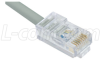 Cat. 5 10Base-T Patch Cable, RJ45 / RJ45, 10.0 ft -- TRD450-10 - Image