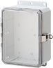 Nema and IP Rated Electrical Enclosure 8X6X3 -- P8063LPCLL