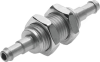 Barbed bulkhead connector -- SCN-PK-4