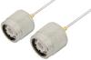 TNC Male to TNC Male Cable 12 Inch Length Using PE-SR047AL Coax -- PE34277LF-12 -Image
