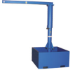 VESTIL Portable Jib Cranes with Standard Base -- 7268400