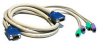 Cables To Go 30-Foot 3-in-1 Universal Hi-Res PS/2 KVM Cable -- 23884