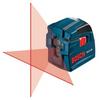 Bosch GLL2-10 Self Leveling Cross-Line Laser -- LASERGLL210 - Image