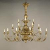 3 Tier Giltwood Chandlier -- CLA19 - Image