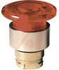 Pushbutton Operator, Illum'd Red Mushroom 40mm Head, Push-Pull, 22mm, 110 VAC -- 70156755 - Image