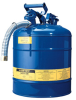 2 Gallon Type II Steel Flammable Liquid Safety Can -- CAN10527-BLUE