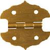 Small Decorative 1-1/4 Inch Box Hinge -- 504017