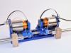 Single Plane Dual Axis Air Bearing Voice Coil Positioning Stage
