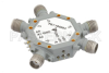 80 dB High Isolation SP4T PIN Diode Switch 2 GHz to 6 GHz, 1.8 dB Insertion Loss with SMA -- PE71S5003 - Image