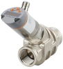 Flow meter with integrated backflow prevention and display -- SB1232