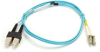 10-Gigabit Multimode, 50-Micron Fiber Optic Patch Cable, Zipcord, PVC, LC–SC, 2-m (6.5-ft.) -- EFNT010-002M-SCLC - Image