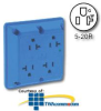 Leviton Surge Protective Four-In-One 2-Pole 3-Wire.. -- 5490 -- View Larger Image